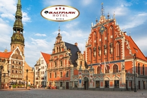 Lotyšsko, Riga - 4 dny pro dva se snídaněmi, 1 dítě do 6 let zdarma...