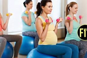 Lehké fitness cvičení pro těhotné ženy v Holešovicích...