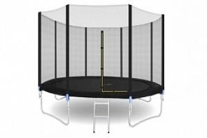 Trampolína 305 cm + vnější ochranná síť + žebřík, 5560...