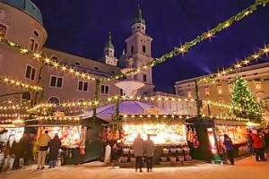 Výlet do dventního Salzburgu pro 1 osobu v sobotu 8. 12. 2018...