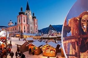 Rakouský Mariazell - zájezd na běh čertů a prohlídku města...