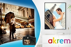 Maxi fotografie - plakáty s vlastí fotografií ve 3 rozměrech...