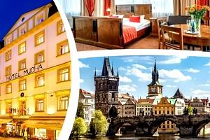 Pobyt pro dva v Hotelu Mucha**** v centru Prahy se snídaní....