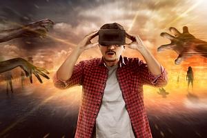 Zábava ve virtuální realitě...