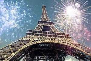 5denní silvestrovský zájezd se snídaní pro 1 do Paříže, Versailles a Fontainebleau...