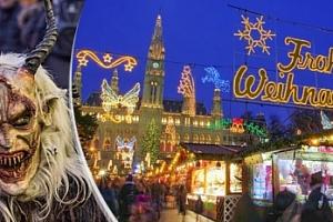 Vídeň a Retz v Rakousku - výlet na adventní trhy a rej čertů...