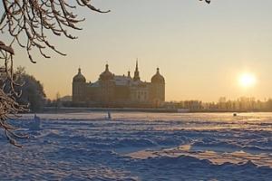 Výlet na Zámek Moritzburg z Tří oříšků pro Popelku trhy v Dráždánech...