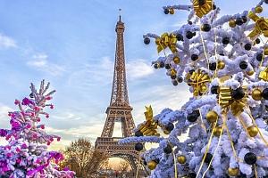 4denní silvestrovský zájezd pro 1 do Paříže s ubytováním v hotelu se snídaní...