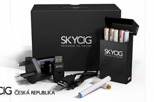 Elektronická cigareta SKYCIG: britská certifikovaná kvalita...