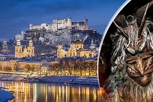 Last výlet Rakousko - Salzburg, Schladming - rej čertů a trhy...