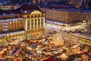 Adventní Drážďany - trhy a nákupy na 1denním výletě z Prahy...