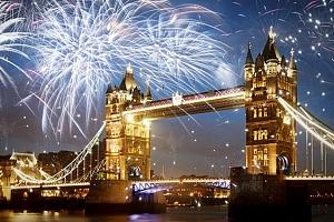 4denní silvestrovský zájezd do Londýna s ohňostrojem, ubytováním a snídaní pro 1 osobu...