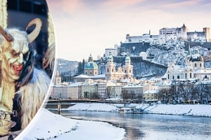 Výlet pro 1 osobu do Salzburgu v Rakousku na rej čertů a trhy...