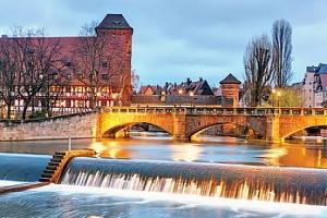 Norimberk v Německu - advetní trhy na výletě pro 1 osobu...