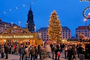 Výlet na adventní trhy a nákupy v Drážďanech v Německu...