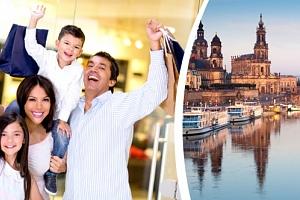 Pobyt na 2 nebo 3 noci pro 2 osoby a dítě do 17 let v Drážďanech se snídaní....