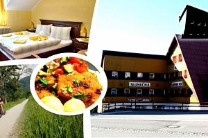 Relaxační pobyt v Hotelu Slunečná na Božím Daru, snídaně, večeře, vstup do muzea pro dvě osoby....