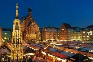 Norimberk v Německu - vánoční trhy: nedělní výlet z Prahy...