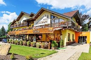3–6denní wellness pobyt s polopenzí v hotelu Centrum Harrachov*** v Krkonoších...