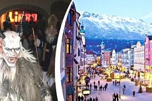 Adventní Salzburg a největší rakouský průvod čertů ve Schladmingu. Zájezd pro jednu osobu....