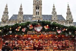 1denní adventní zájezd pro 1 osobu na vánoční trhy do Vídně...