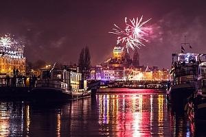 3denní silvestrovský zájezd pro 1 osobu do Amsterdamu i s lahví sektu...