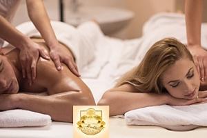60min. luxusní párová masáž dle vlastního výběru...