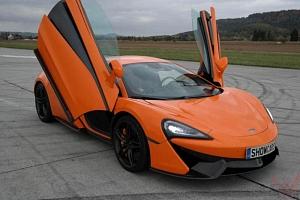 Jízda v supersportu McLaren...