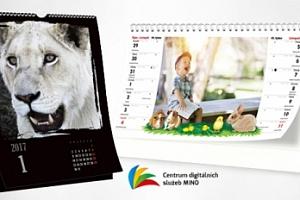 Nástěnné či stolní kalendáře z vlastních fotografií...
