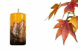 Svíčka podzim...