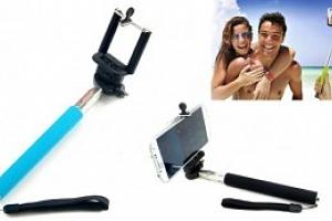 Ruční selfie stativ + bluetooth ovladač...