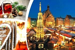 Adventní Norimberk 2018 největší adventní trhy v Evropě. Celodenní výlet za vánočními trhy a nákupy....