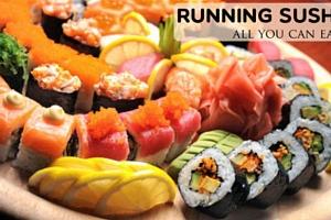 47% sleva na Running Sushi...