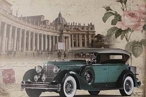 Obraz na stěnu - Retro auto...