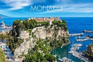 Monako - Grand Casino, Knížecí palác aj...