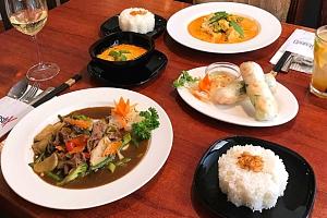 3chodové vietnamské menu s nápojem pro dva na Praze 1 v Chopstix...