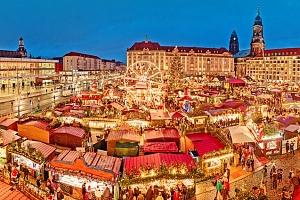 Celodenní zájezd pro 1 na adventní trhy v německých Drážďanech...