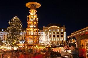 Celodenní víkendový zájezd pro 1 do adventních Drážďan s nákupy v Primarku...
