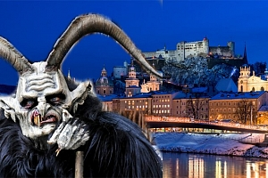 Celodenní zájezd pro 1 do adventního Salcburku s návštěvou průvodu čertů...