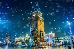 Celodenní zájezd pro 1 osobu na adventní trhy do Krakova s návštěvou solného dolu...