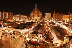 Celodenní zájezd na vánoční trhy do Norimberku s prohlídkou města pro 1 osobu...