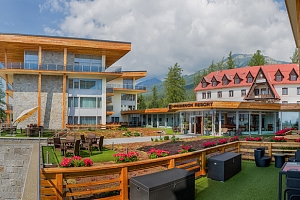 Dovolená v úplně novém Hrebienok Resortu v Tatrách...