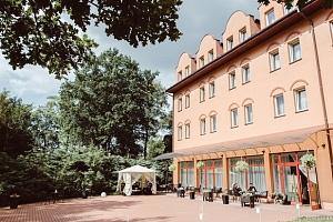 Hotel Garden Park v Polsku 10 min. od solného dolu Wieliczka...