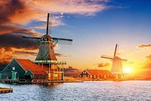3denní podzimní víkendový zájezd pro 1 do skanzenu Zaanse Schaans a Amsterdamu...