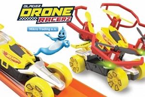 Hot Wheels Quad Racerz auto/dron na baterie + poštovné...