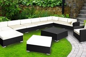 Luxusní zahradní nábytek včetně poštovného...