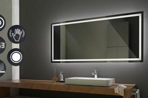 Koupelnová zrcadla s led podsvícením od známé belgické firmy AGC...
