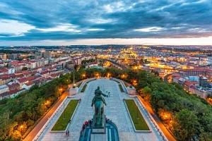 Pobyt v A&O Praha Metro Střížkov s bohatou snídaní a fantastickým výhledem...