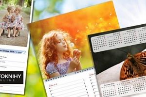Kalendář z vlastních fotografií: roční, měsíční či plánovací po týdnech...