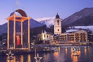 Výlet do Rakouska - čerti v Solné komoře, Hallstatt a St. Wolgang...